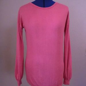 14th & Union Pink Pullover Sweater Size S VISCOSE